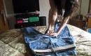 ::BEST:: DIY & How To Wear High-Waisted Denim Cutoff Shorts:: including Tips & Tricks