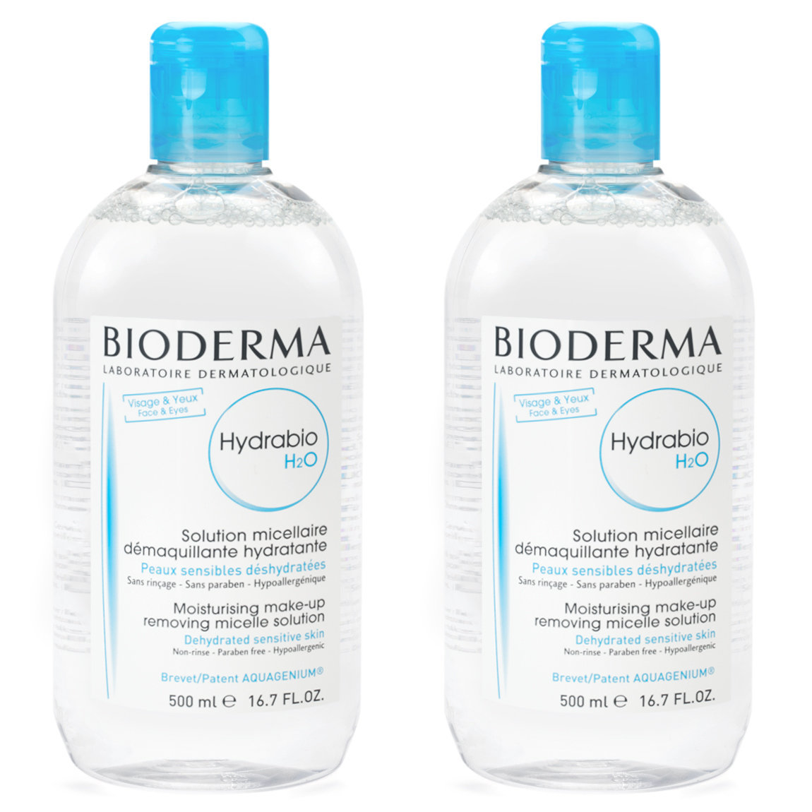 Bioderma Hydrabio H2O 500 ml Duo Special alternative view 1 - product swatch.