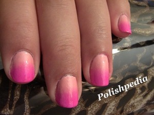 This new ombre nail design was so much fun to do.  The design/color combos are so numerous.    Video Tutorial: http://www.polishpedia.com/ombre-nails.html