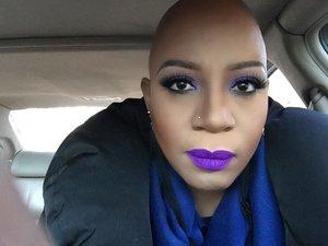 I love a bold lip!