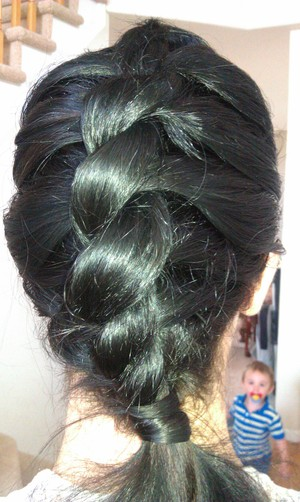 New Twist on the Traditional French Braid.