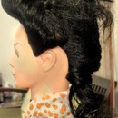 Rebel Super High French Twist Updo