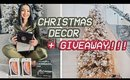 HUGE $10K HOLIDAY GIVEAWAY + DECORATE WITH ME FOR CHRISTMAS! | AMANDA ENSING