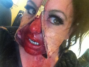 special effects make up by Christy Farabaugh