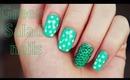 Green Salad nails