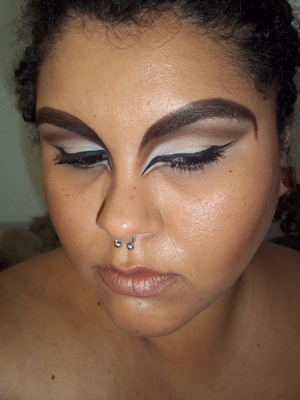 A Look I created for the Makeupbee.com Zodiac competition. I'm a capricorn and I believe my look represents it