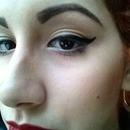 Eyebrow Eyeliner Lipstick