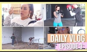 DAILY VLOG EP #3 | GYMSPACE RENOVATION 🔨 WORKOUT WITH ME 🏋🏻♀️