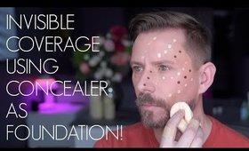 Concealer As Foundation