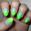 Green and Blue Gradient