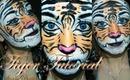 Tiger make-up tutorial