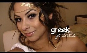 Halloween Makeup: Greek Goddess