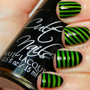 31 Day Challenge Striped Nails