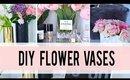 EASY Valentine's DIY Flower Vases | ANN LE