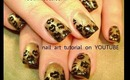 LEOPARD PRINT KISSES: robin moses nail art design tutorial