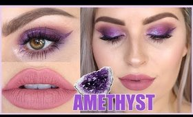 Gemstone Series 💜 AMETHYST 💎 ft Nipple Brushes! Chatty Tutorial