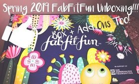 Spring 2019 FabFit Fun Box and Add Ons Opening - Medium Length But Feel-Good Worthy!!!