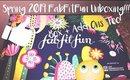 Spring 2019 FabFit Fun Box and Add Ons Opening - Medium Length But Feel-Good Worthy!!!