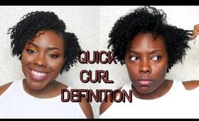 Styling my new haircut!│Curl defining short tapered hair