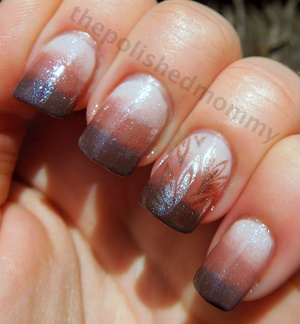 Orly Decades of Dysfunction, China Glaze Dress Me Up, Fois Gras