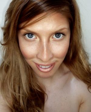 All natural makeup look