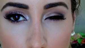 """This photo is from my youtube tutorial of how to create a """"daytime smokey eye"""""""