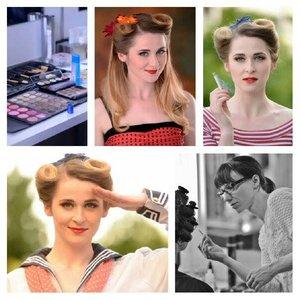 Model: Michelle ONeill Styling: Nicole Dannecker Foto: Bastian Höhl Haare & Make up: Anke L. — hier: Bloos Make up Schule.