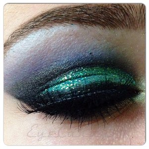 """Used the bhcosmetics 1st edition pallet with Coastal Scents glitter in """"mermaid"""" ❤️ Instagram: eyecandy131 😊"""