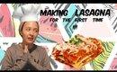 Making Lasagna For The FIRST Time #Mukbang