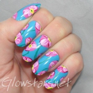 For more nail art and a tutorial visit http://Glowstars.net