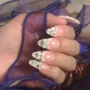 French tips with stickers