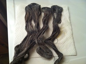 Question on dying human hair extensions beautylish i re bleached again with the quick blue and 40 vol developer ive left it on for 3 4 days now as it was very slow to lighten and there are more strands pmusecretfo Choice Image