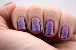 Flormar Supershine 14 - 2 coats  http://iloveprettycolours.blogspot.com/2011/11/31-day-challenge-day-six-violet.html