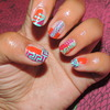 Mayan Inspired Nails