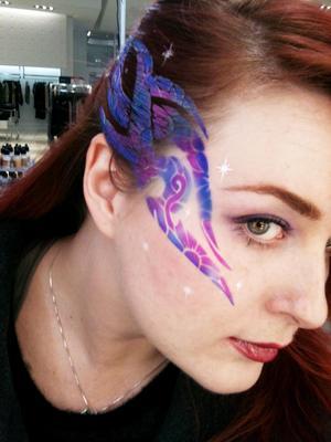Airbrush makeup  Model: Sara
