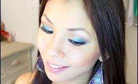 Wearable Blue Eyeshadow Tutorial!