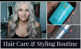 My Hair Care & Styling Routine