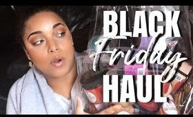 MY BLACK FRIDAY NATURAL HAIR HAUL + NEW MELANIN RELEASE!