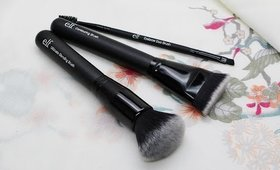 NEW ELF Brushes - First Impression & Giveaway!
