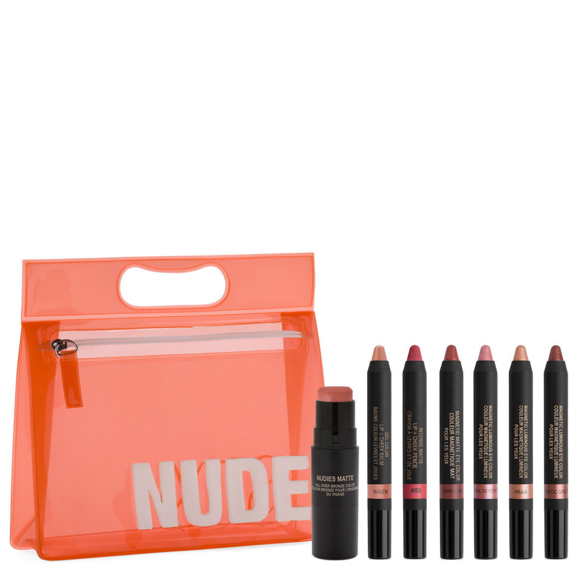Nudestix Nude Beach Kit product smear.