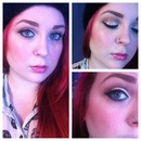 Glitter and Teal Cat Eye