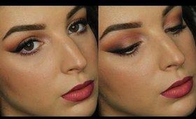 Sangria Smokey Eyes   Makeup Tutorial ♥
