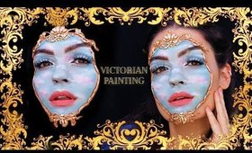 VICTORIAN PAINTING Halloween Makeup
