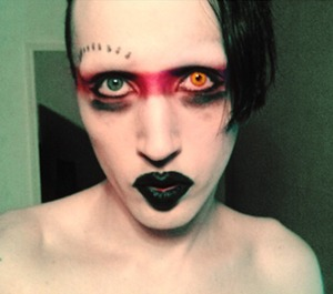 This makeup was inspired by a friend on Facebook.