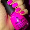 China Glaze - Purple Panic (Neon)