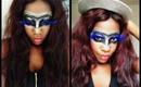 TUTORIEL Maquillage masque pour Mardi Gras