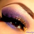 Gold & Purple (: