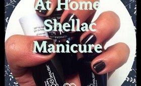 At Home Shellac Manicure