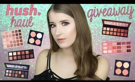 CHEAP MAKEUP DUPES!? SHOP HUSH HAUL + GIVEAWAY! (3 WINNERS!)