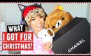 WHAT I GOT FOR CHRISTMAS 2015! + Giveaway!